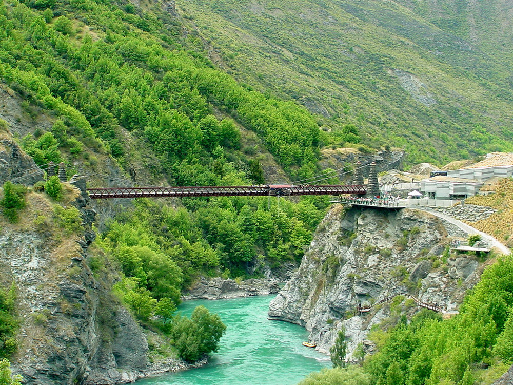 the Kawarau Bridge