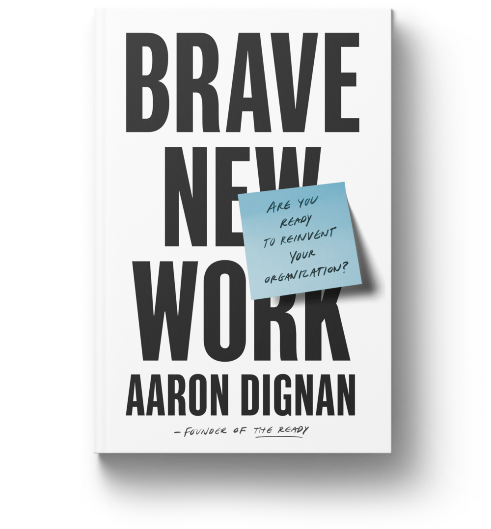 help us spread the word - We're looking for up-and-coming org enthusiasts with a passion for the future of work to read and review #BraveNewWork on Amazon.com. If you're willing to take the time to author an authentic review, sign up to receive your free copy and join the movement to change how the world works.