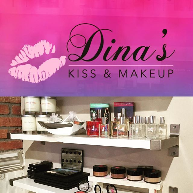 If you're in our lovely town of #Hoboken this weekend, treat yourself with a stop @dinaskissandmakeup! Whether it's hanging out with our gorgeous girlfriends Dina and @brittany_at_dkm and experiencing their great services or learning how to apply the amazing @dkmcosmetics, you can also check out United Scents of America because we're completely restocked! Thank you D for having our back all these years 🙌🏼😘💅🏽💇🏽💄💋