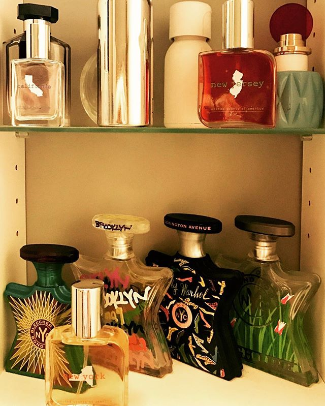 What's in your fragrance cabinet? I spy United Scents of America NY, NJ, and CA - 3 of our most popular scents!