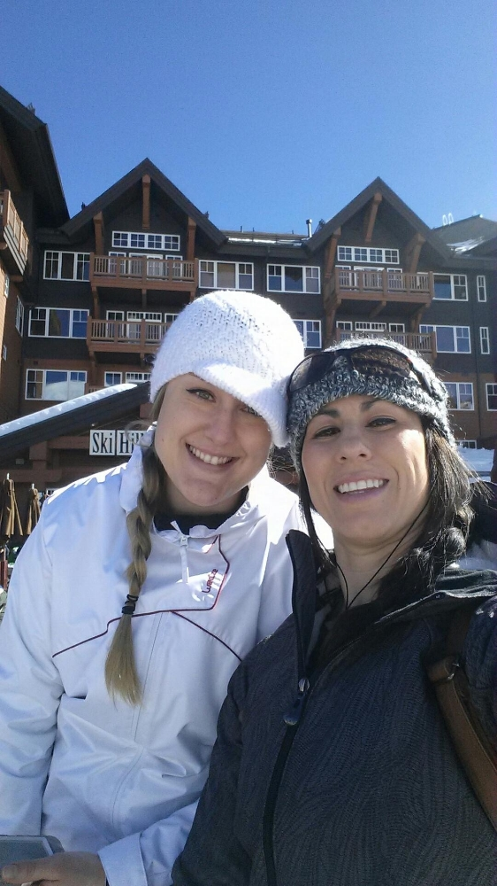 Time for a hot chocolate break at Breckenridge