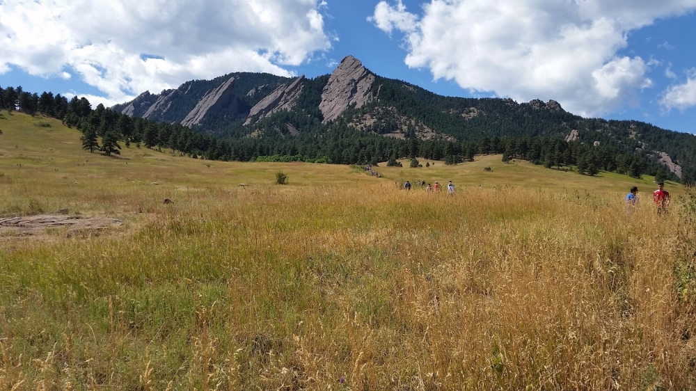 Hiking the Chautauqua outside of Boulder