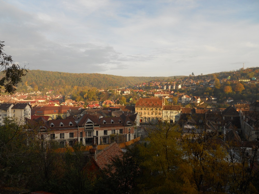 View from Sighisoara