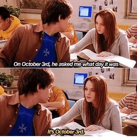Everyone is talking about Hocus Pocus, but is anyone else is still obsessed with Mean Girls?