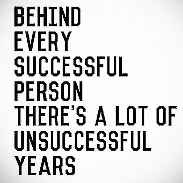 repost via @instarepost20 from @lisamessenger  So so true in a lot of scenarios. Thanks @lisamessenger and The Collective. May your unsuccessful years be short.