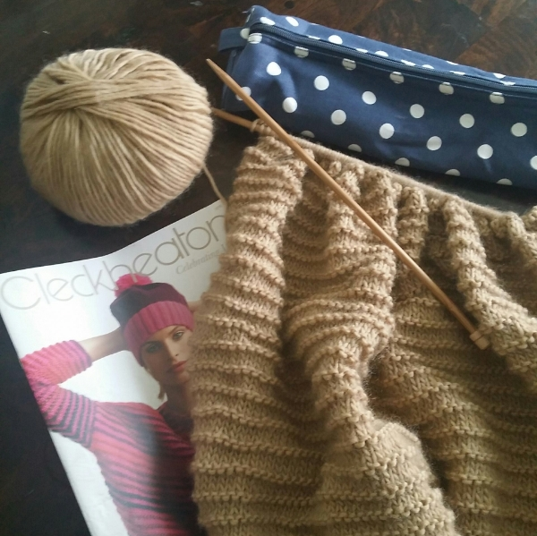Rediscovering my ability to knit has been great, and eventually this jumper will be finished!