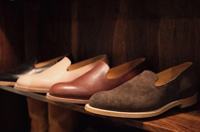 Suede loafers now available @daychild_store