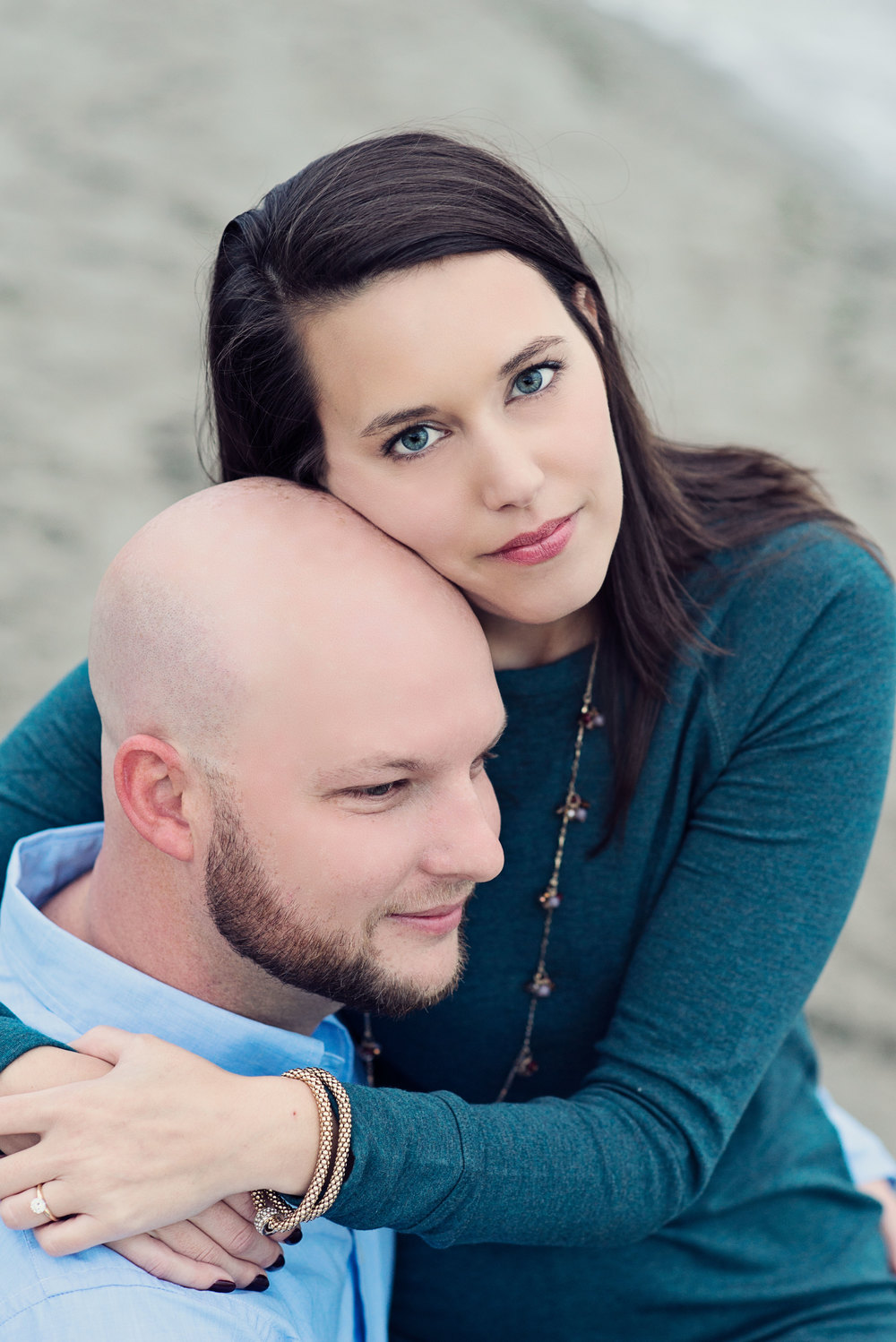 Seattle Wedding Photographer_Beach Engagement_Kelsey Lane Photography_Alki Beach_eyes