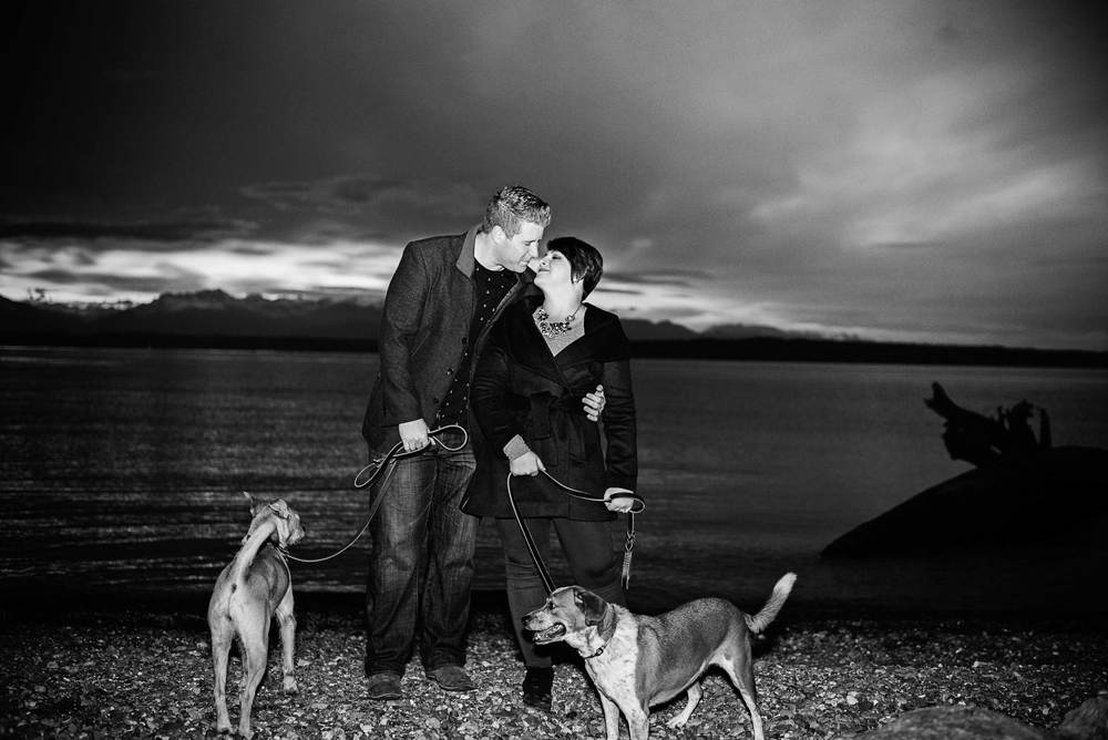 Colleen-+-Steve_Carkeek-Park_Kelsey-Lane-Photography-5672-web-b&w