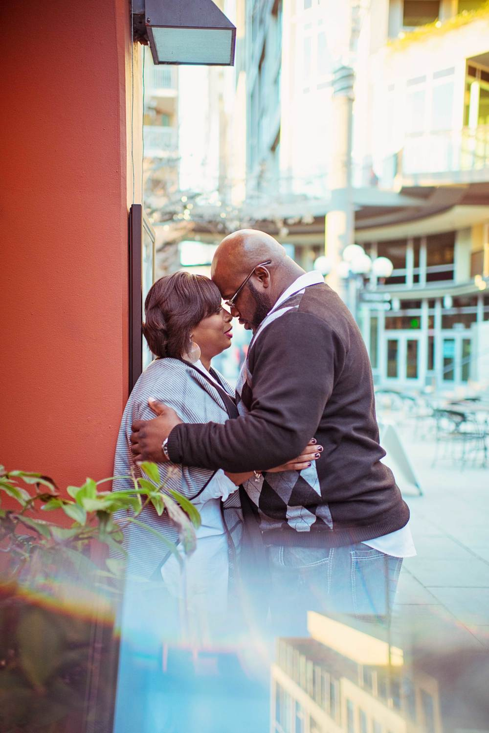 Rakisha + Jason_Seattle Public Library Engagement_Downtown Seattle Engagement_Urban Engagement_Kelsey Lane Photography_Seattle Wedding Photographer_Seattle Engagement Photographer_26