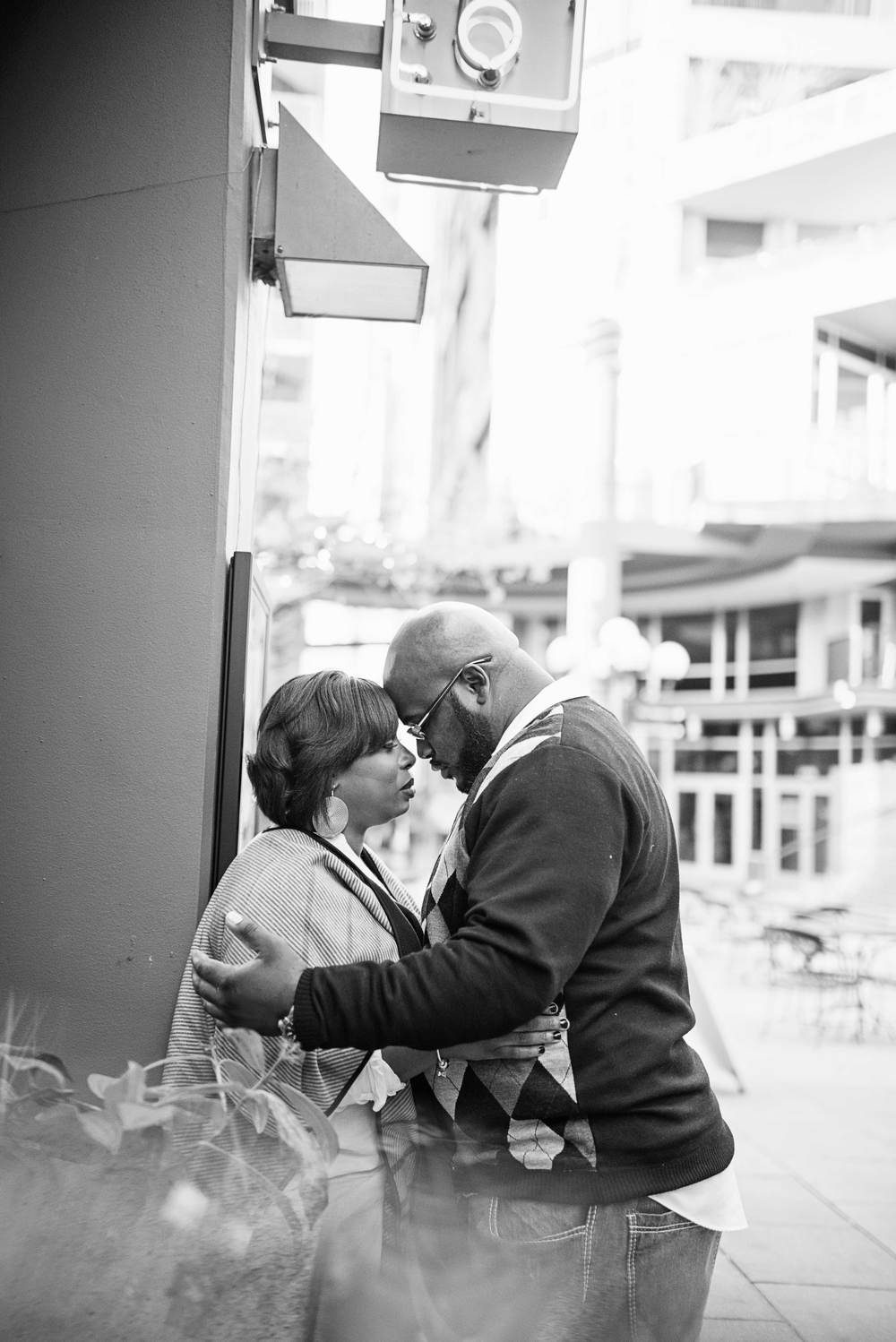Rakisha + Jason_Seattle Public Library Engagement_Downtown Seattle Engagement_Urban Engagement_Kelsey Lane Photography_Seattle Wedding Photographer_Seattle Engagement Photographer_27