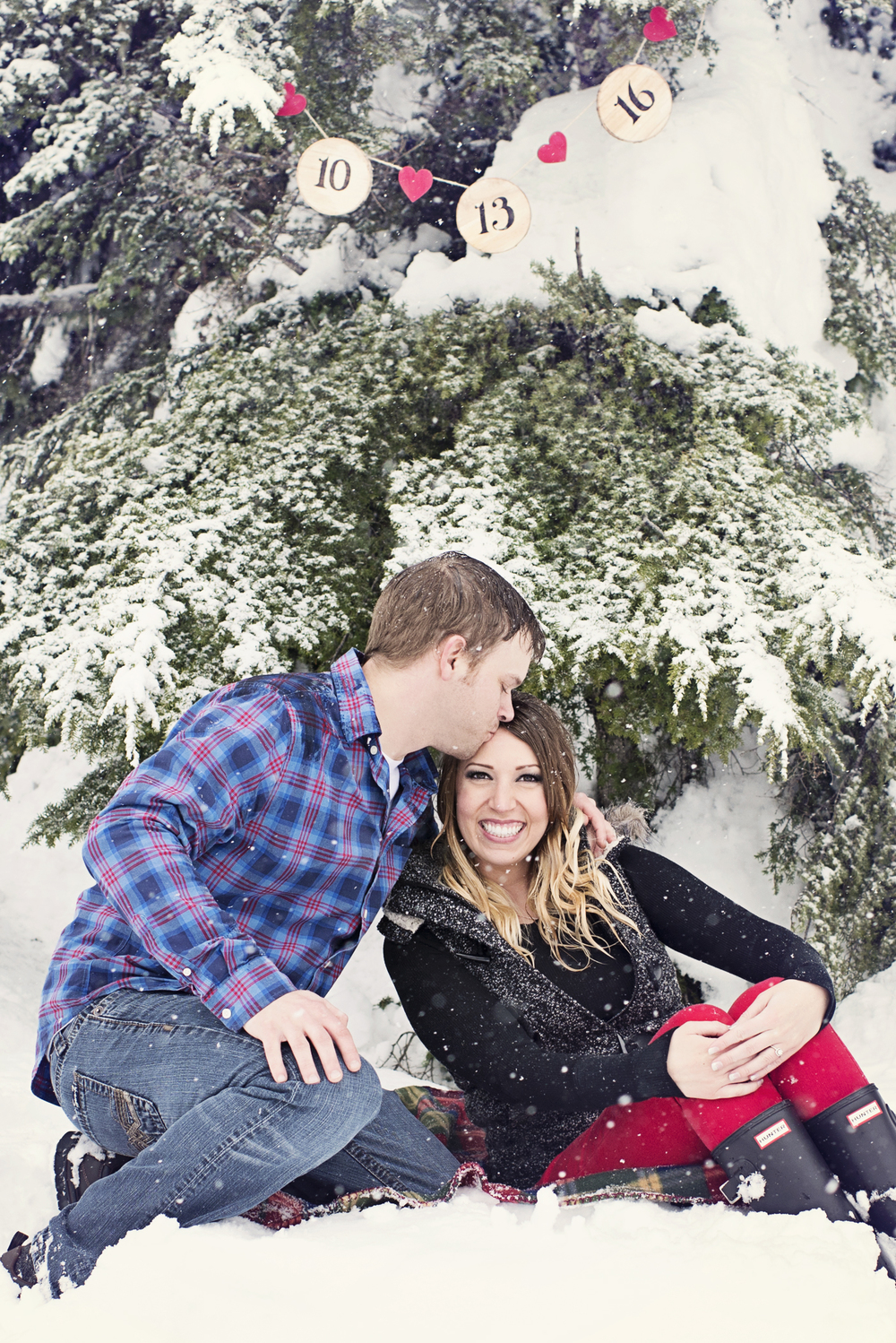 Winter Engagement Session, Christmas Engagement Session, Cute Seattle Engagement, Seattle Wedding Photographer_2