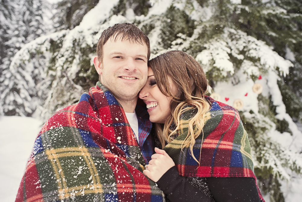 Winter Engagement Session, Christmas Engagement Session, Cute Seattle Engagement, Seattle Wedding Photographer_9