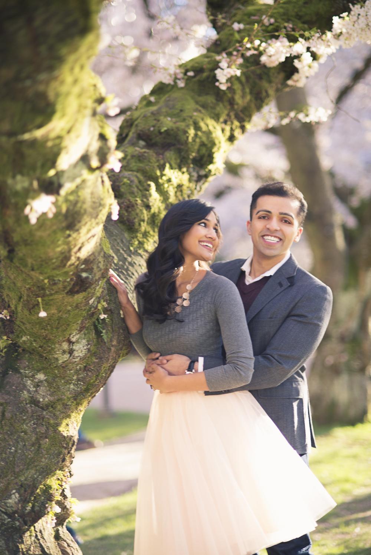 Cherry Tree Blossom Engagement_Kelsey Lane Photography_Seattle Engagement Photographer_Seattle Wedding Photographer_2