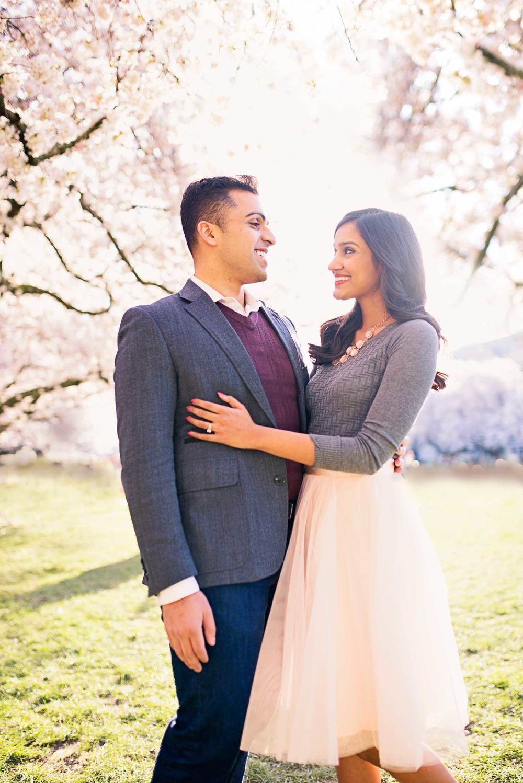 Cherry Tree Blossom Engagement_Seattle Wedding Photographer_Kelsey Lane Photography_2