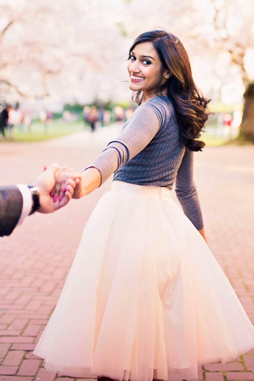Cherry Tree Blossom Engagement_Seattle Wedding Photographer_Kelsey Lane Photography_6