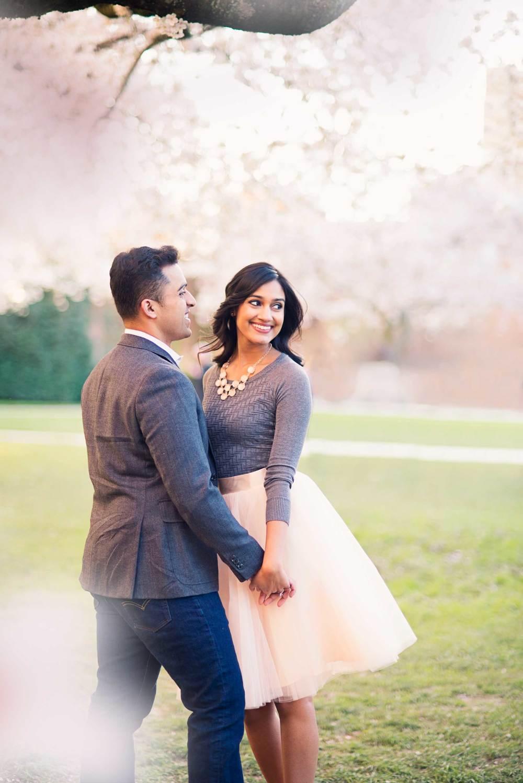 Cherry Tree Blossom Engagement_Seattle Wedding Photographer_Kelsey Lane Photography_9