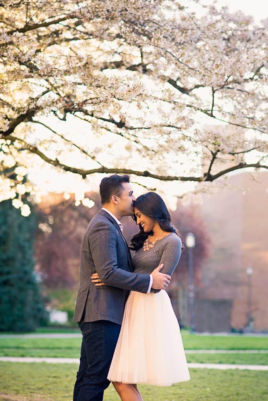 Cherry Tree Blossom Engagement_Seattle Wedding Photographer_Kelsey Lane Photography_10