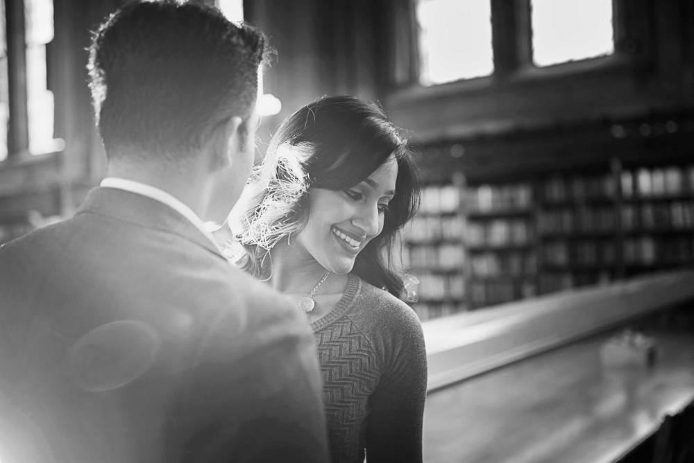 Romantic engagement_UW Library_Seattle Wedding Photographer_Kelsey Lane Photography_3