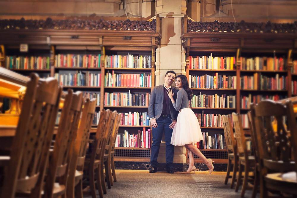 Romantic engagement_UW Library_Seattle Wedding Photographer_Kelsey Lane Photography_6