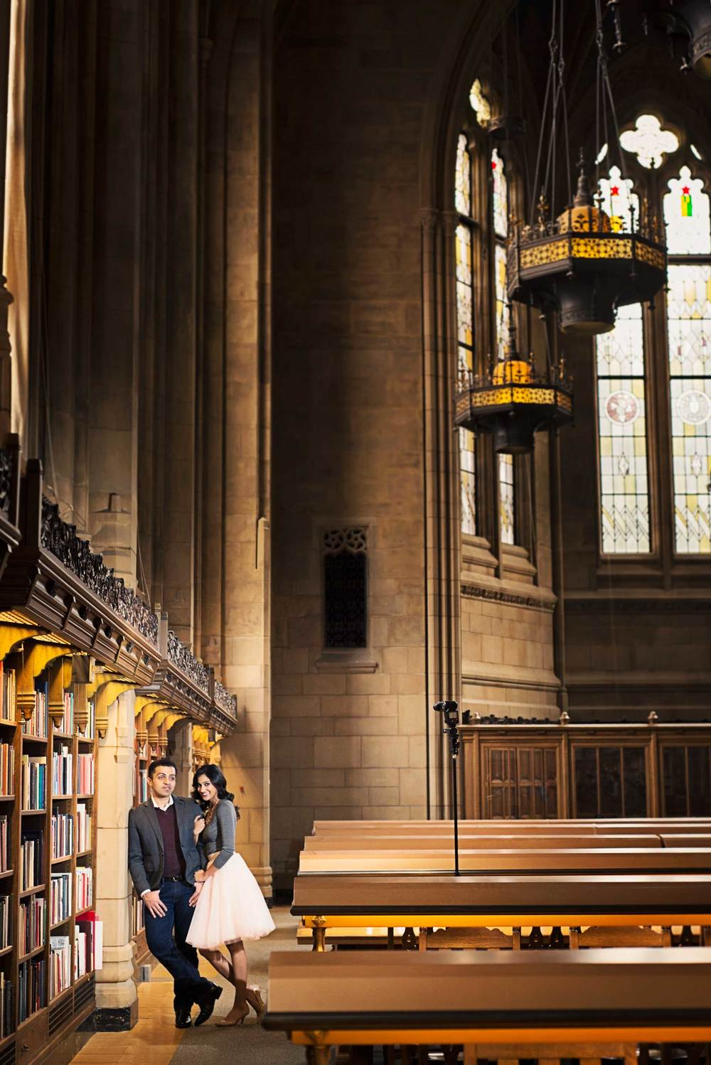 Romantic engagement_UW Library_Seattle Wedding Photographer_Kelsey Lane Photography_7