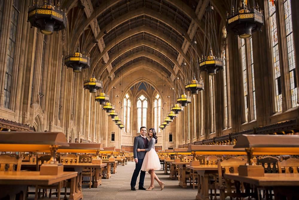Romantic engagement_UW Library_Seattle Wedding Photographer_Kelsey Lane Photography_11