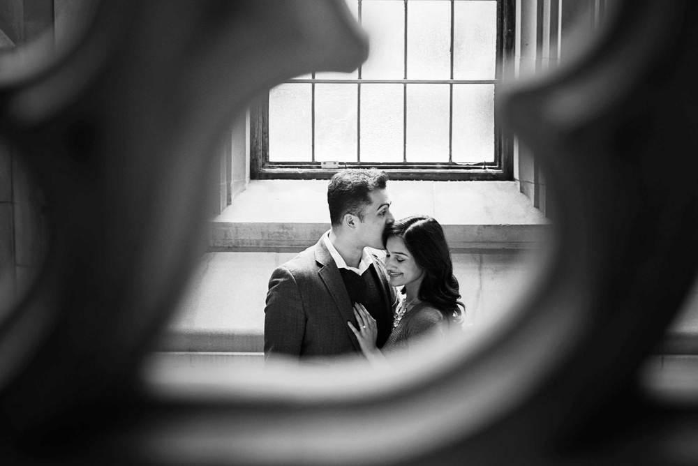 Romantic engagement_UW Library_Seattle Wedding Photographer_Kelsey Lane Photography_14