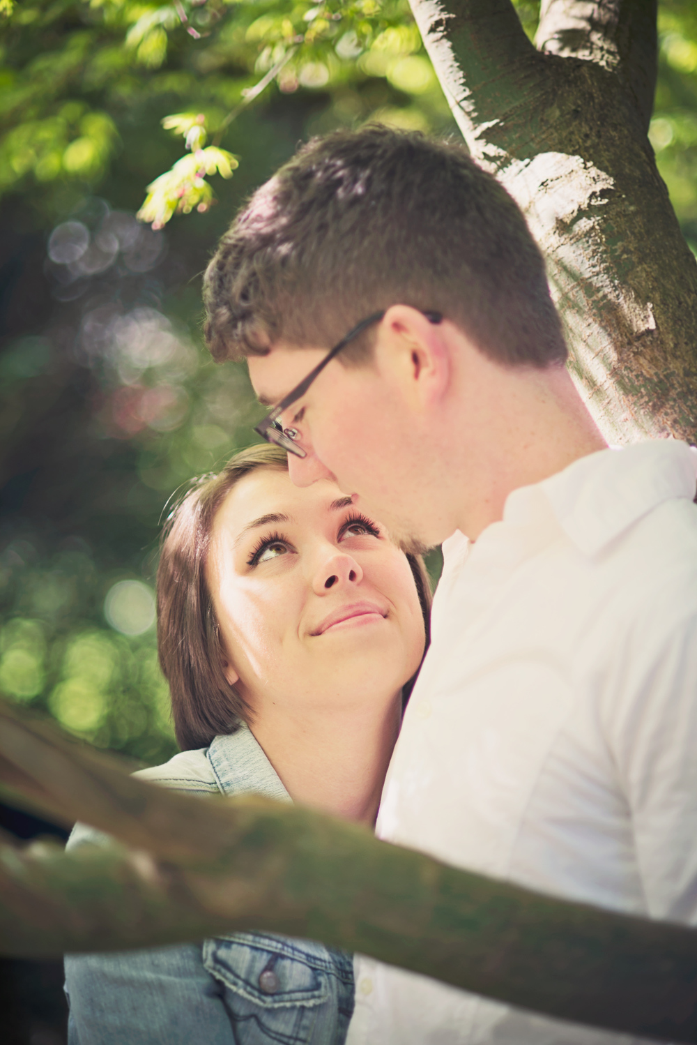 Romantic Park Engagement_Seattle Engagement_Kabota Gardens Engagement_Kelsey Lane Photography_2
