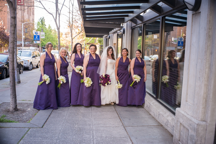 Downtown Seattle Wedding_Seattle Wedding Photographer_Urban Wedding_Movie Theater_5