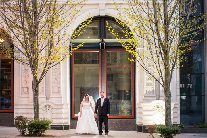 Downtown Seattle Wedding_Seattle Wedding Photographer_Urban Wedding_Movie Theater_16