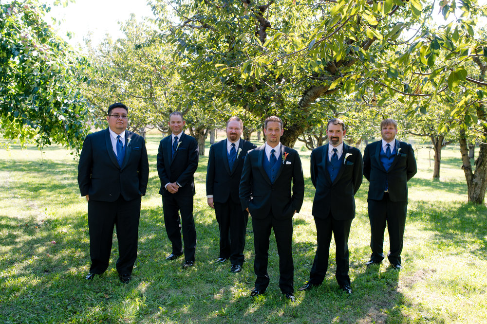 Montana Wedding_Flathead Wedding_Seattle Wedding Photographer_Kelsey Lane Photography_Groomsmen