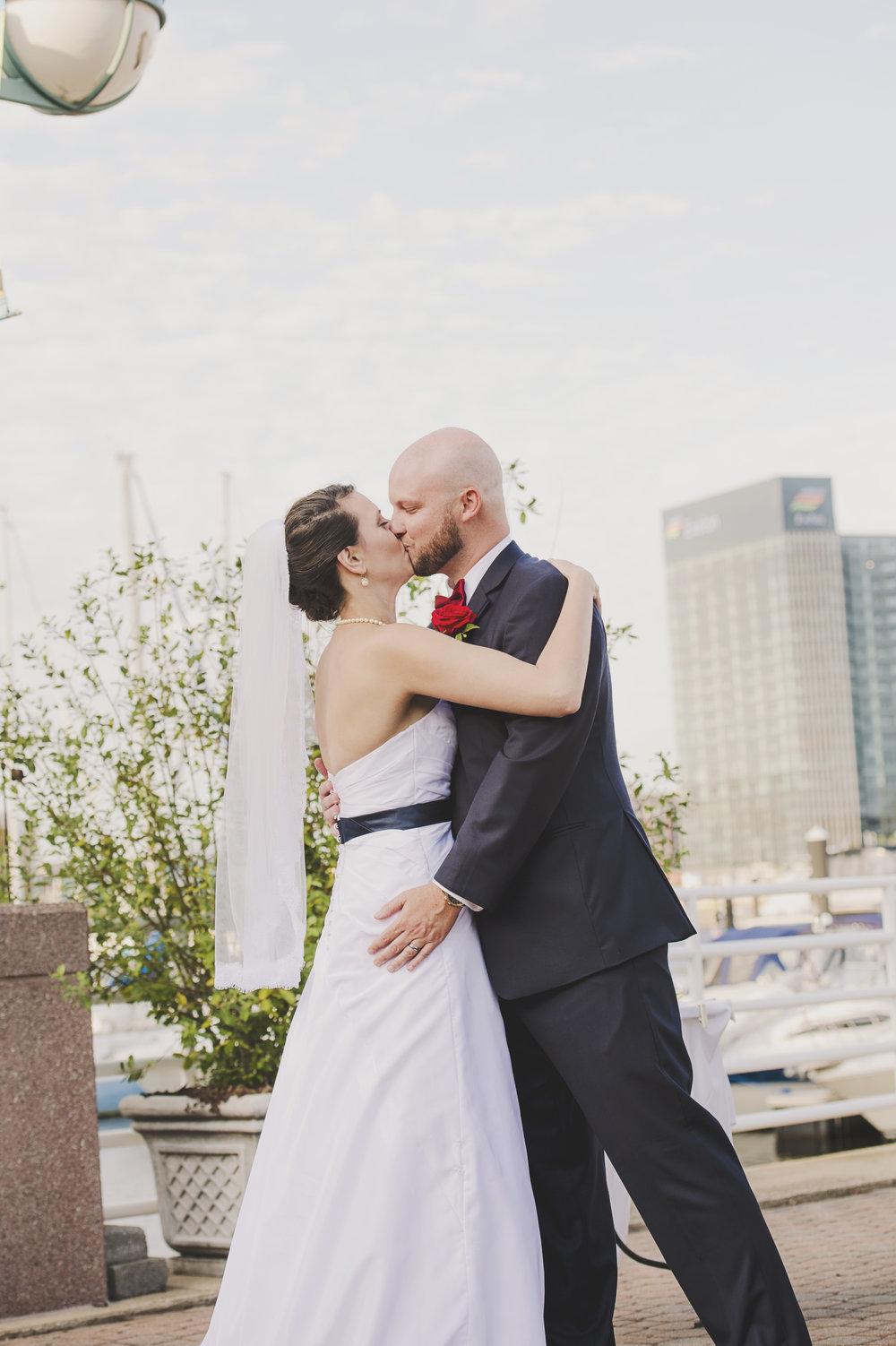 Baltimore wedding_Montana Wedding Photographer_Missoula Wedding Photographer_Ceremony_You may now kiss the bride