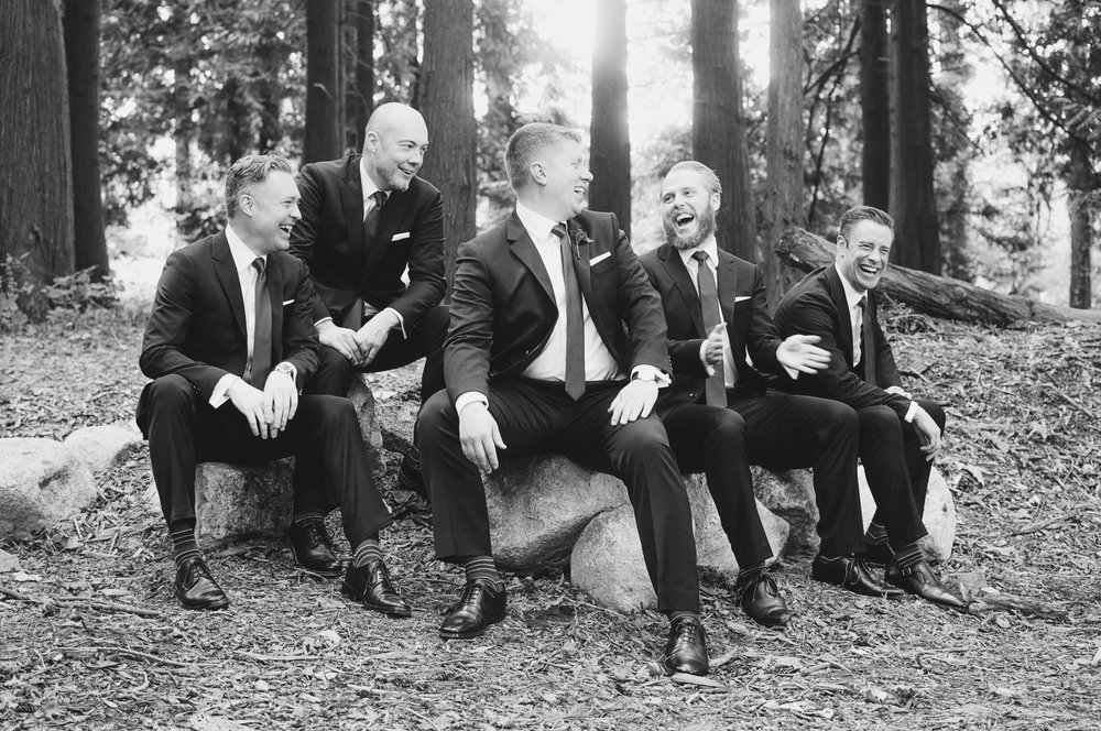 Edmunds Yacht Club Wedding_Montana Wedding Photographer_Missoula Wedding Photographer_Kelsey Lane Photography_Groomsmen