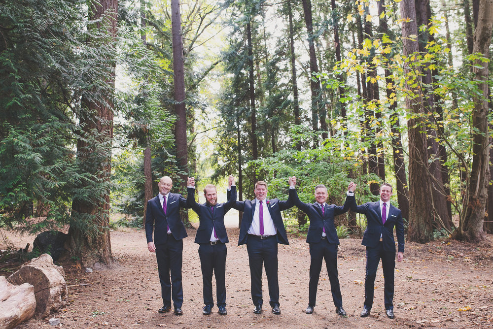 Edmunds Yacht Club Wedding_Montana Wedding Photographer_Missoula Wedding Photographer_Kelsey Lane Photography_funny groomsmen picture