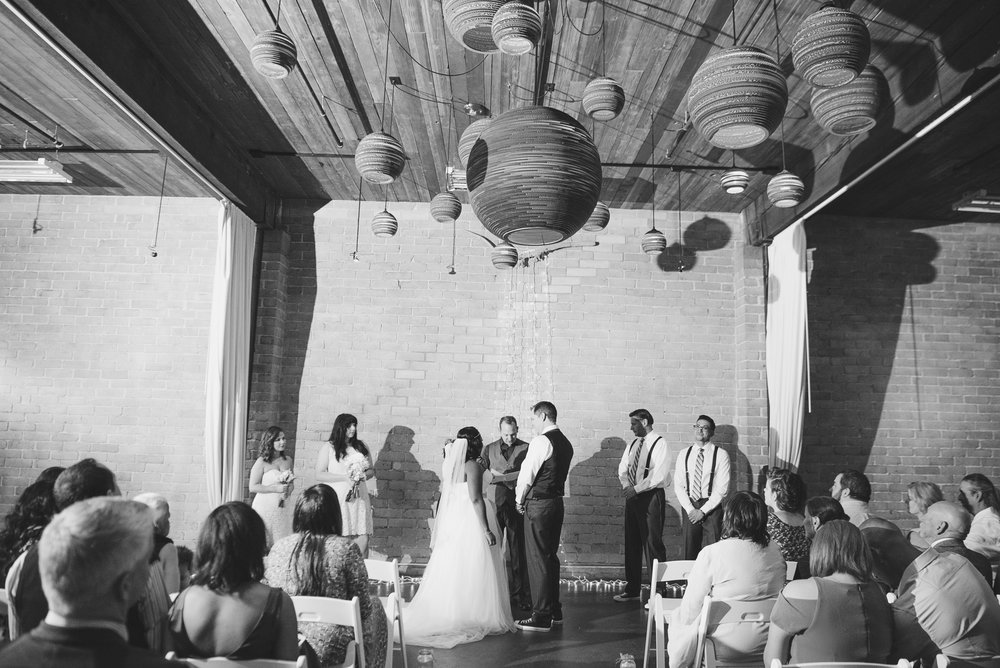 Gold Wedding_Montana Wedding Photographer_Within Sodo Wedding_Kelsey Lane Photography_Gold wedding ceremony