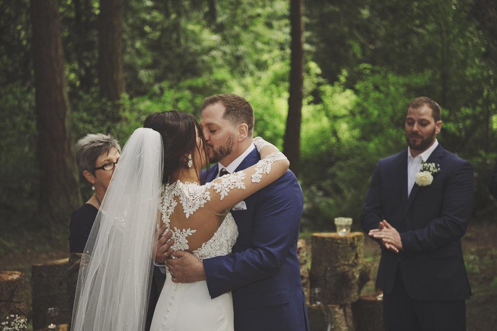 Woodsy Wedding_Kitsap Memorial State Park_Kelsey Lane Photography_2