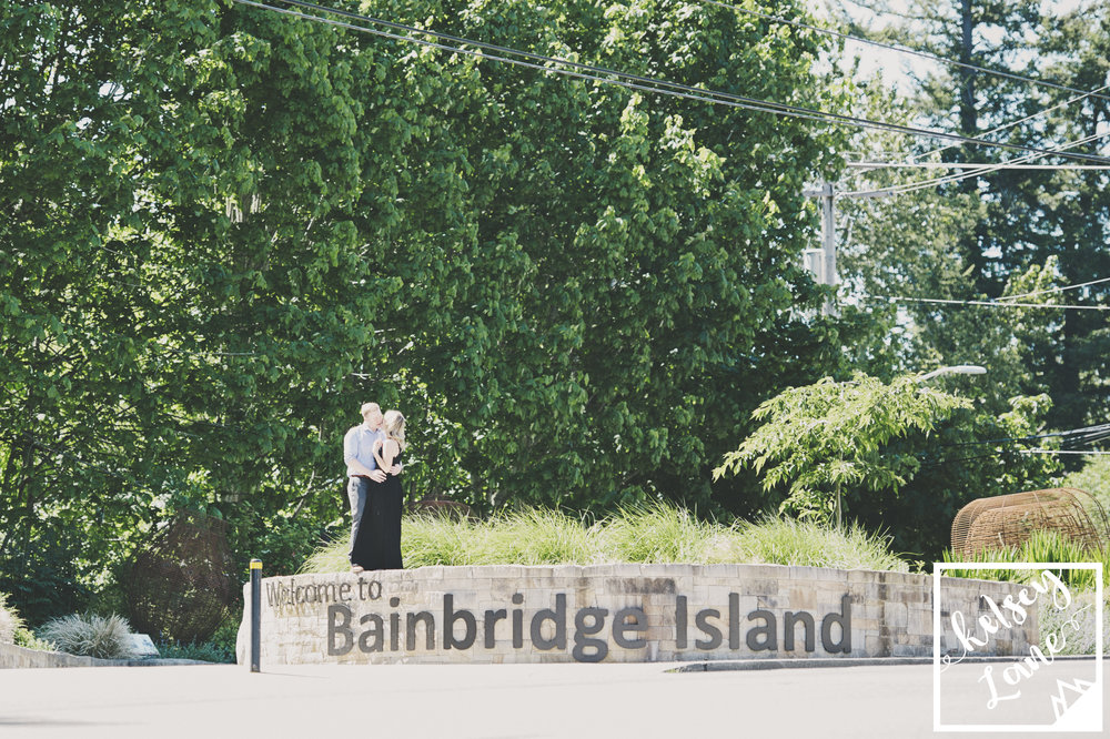 Ferry Engagement_Seattle Ferry Enagement_Montana Wedding Photographer_Kelsey Lane Photography_Bainbridge Engagement