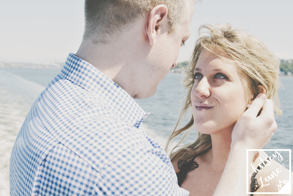 Ferry Engagement_Seattle Ferry Enagement_Montana Wedding Photographer_Kelsey Lane Photography