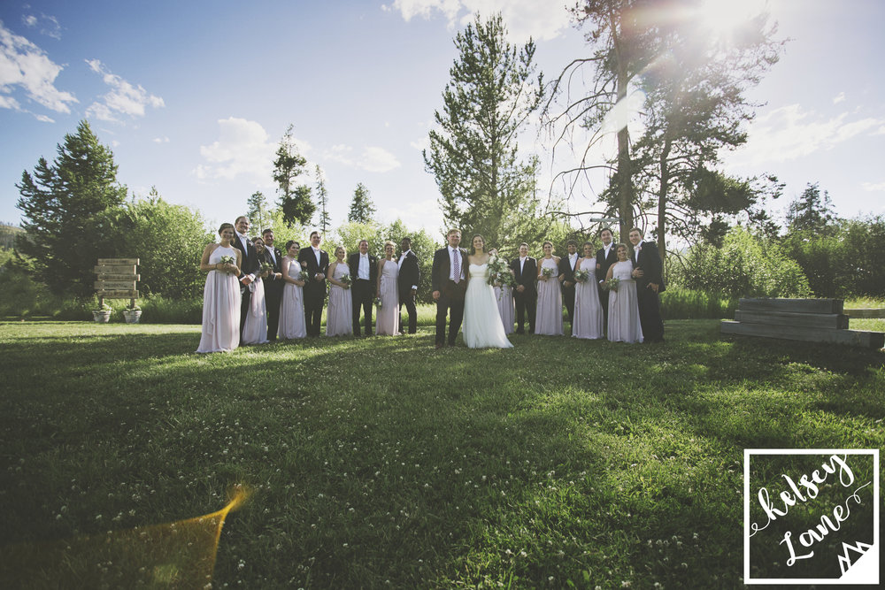 Rustic Wedding_Rustic Montana Wedding_Seeley Lake Wedding_Missoula Wedding Photographer_Montana Wedding Photographer_Kelsey Lane Photography_Fun Wedding Party