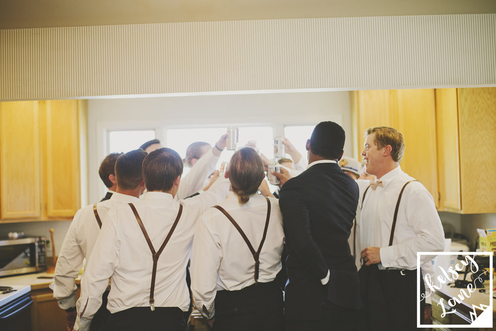 Rustic Montana Wedding_Soft Montana Wedding_Montana Wedding Photographer_Missoula Wedding Photographer_Grey Wolf Ranch_Kelsey Lane Photography_groomsmen getting ready