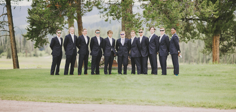 Rustic Montana Wedding_Soft Montana Wedding_Montana Wedding Photographer_Missoula Wedding Photographer_Grey Wolf Ranch_Kelsey Lane Photography_groomsmen