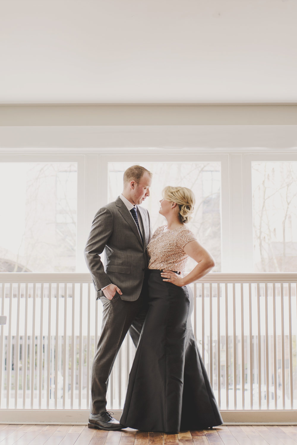 High Fashion Engagement | Urban Engagement | Tulle Skirt Engagement | Montana Wedding Photographer | Kelsey Lane Photography