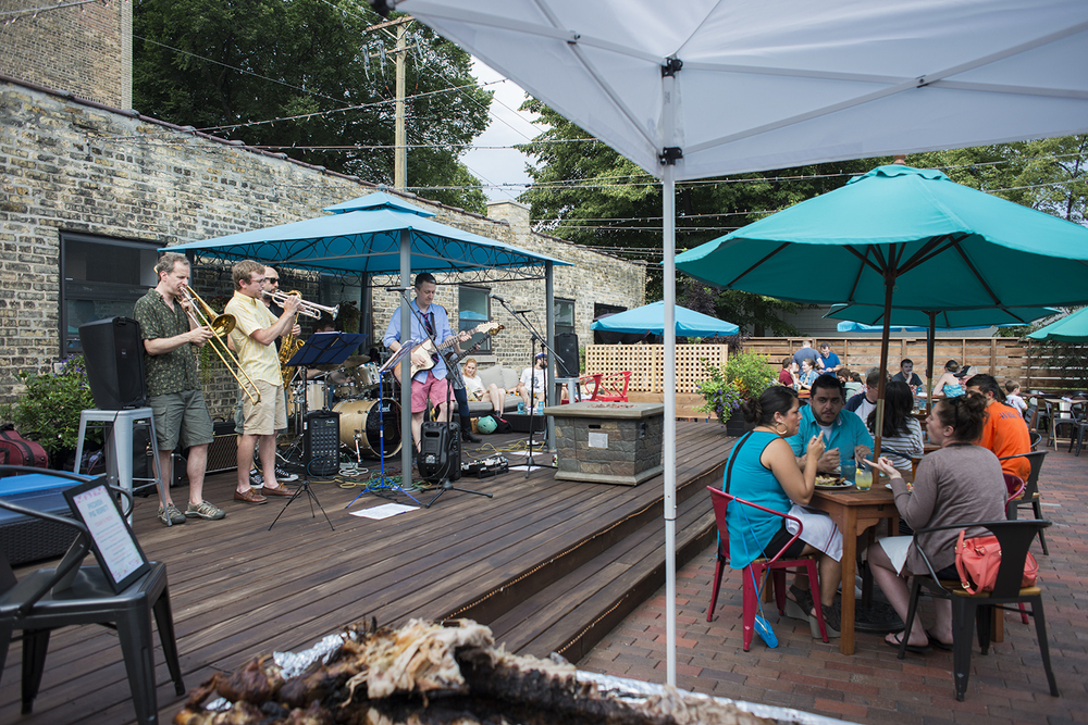 Pig Roast & Live Music on the Patio