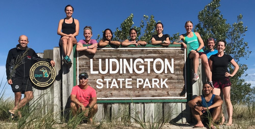 DWRunning Ludington Camp