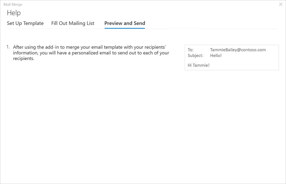 Excel Mail Merge Alec Mcginnis