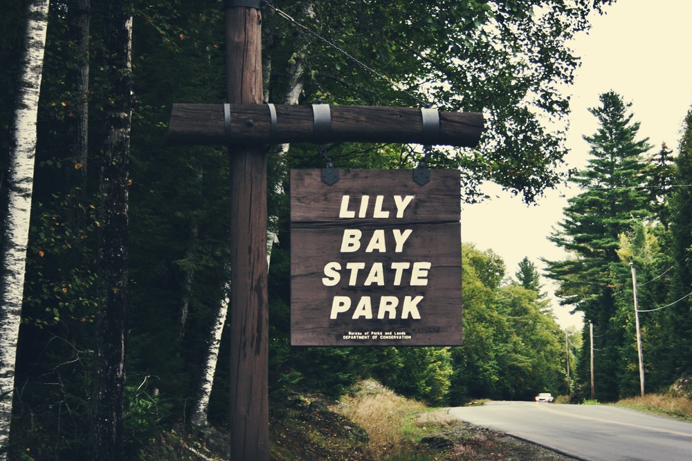 Moosehead's famous Lily Bay State Park