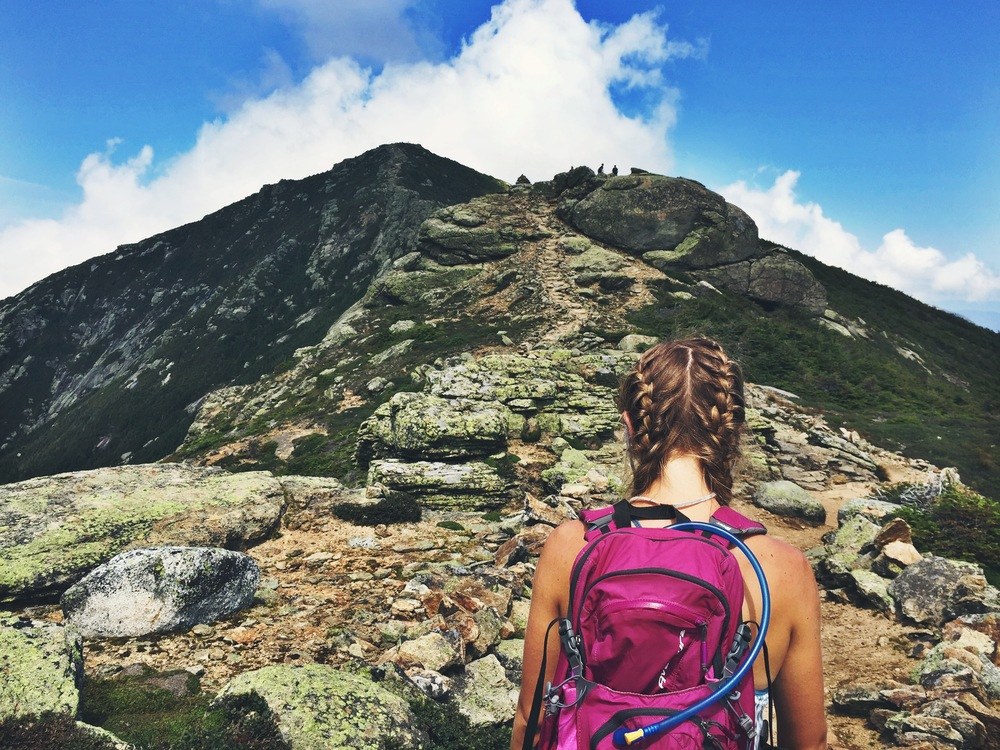 The gorgeous Franconia Ridgeline, beware of false summits!
