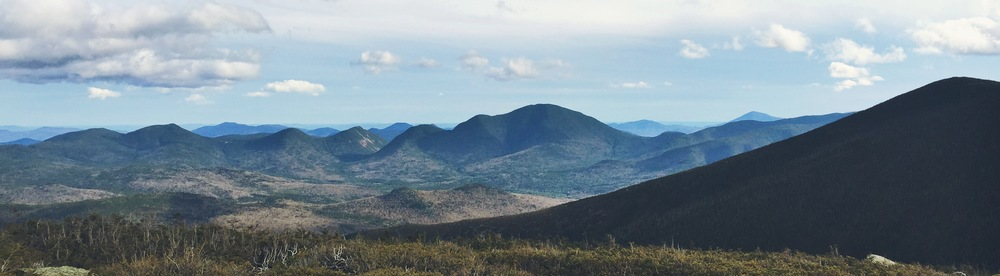 View of Mt. Carrigain from Mt. Guyot
