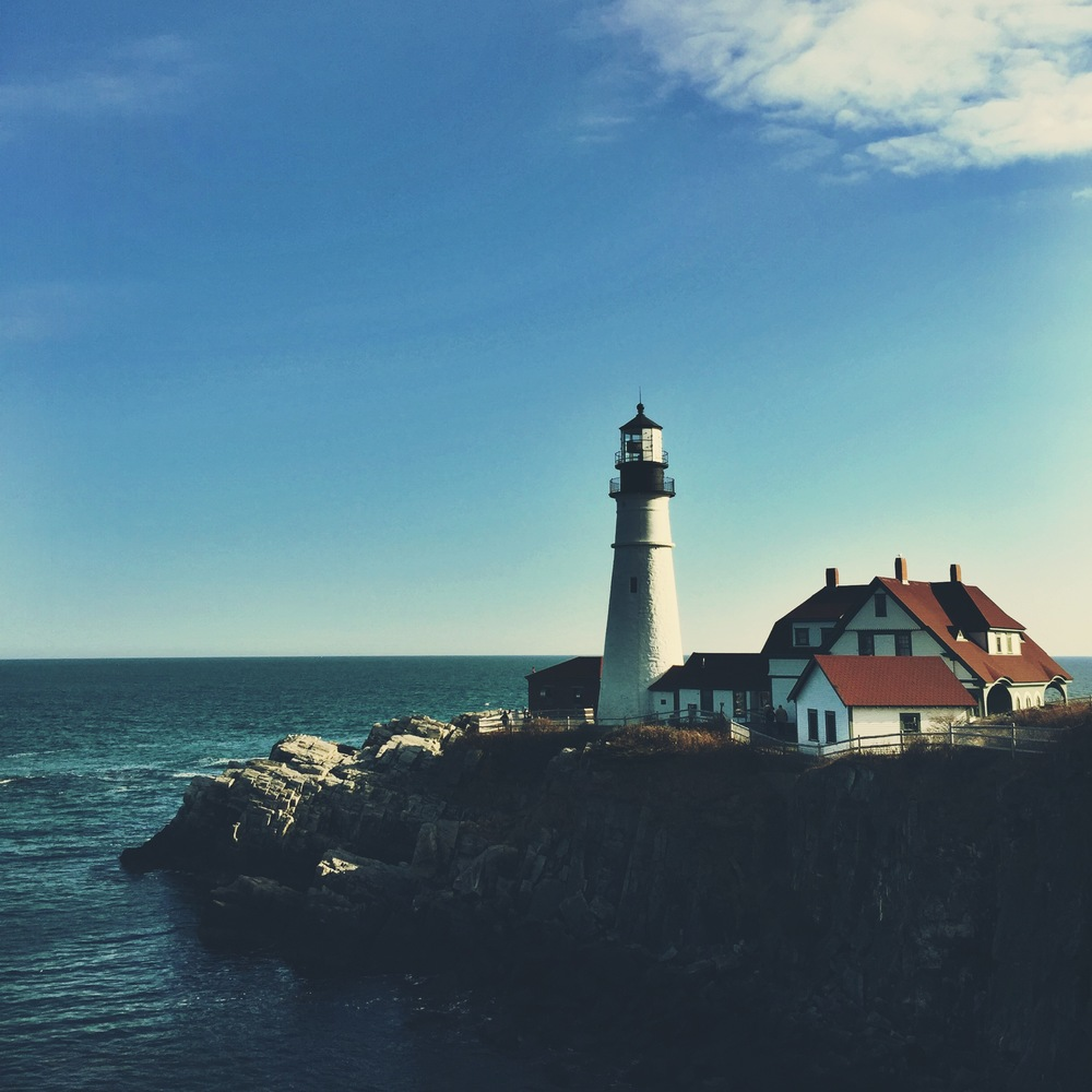 Beautiful Portland Head Light in Cape Elizabeth, Maine