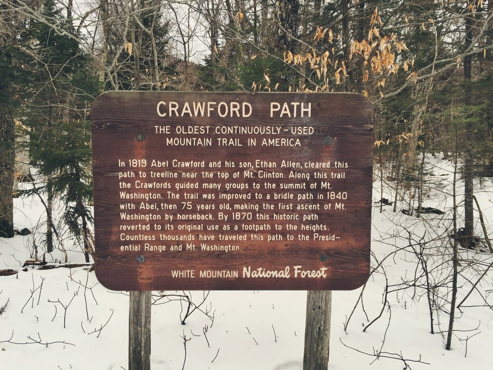 Crawford Path: The oldest continuously - used mountain trail in America